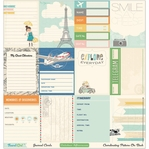 Travel Girl Double-Sided Cardstock Journaling Cards