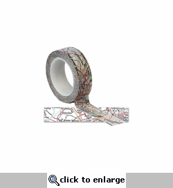Travel Map Trendy Tape 15mm X 10yds