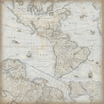 Travel: Old World Map 12 x 12 Paper