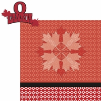 Travel The World: Canada 2 Piece Laser Die Cut Kit