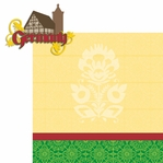 Travel The World: Germany 2 Piece Laser Die Cut Kit