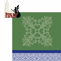 Travel The World: Italy 2 Piece Laser Die Cut Kit