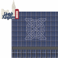 Travel The World: United Kingdom 2 Piece Laser Die Cut Kit