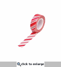 Trendy Tape Holiday Stripe 15mm x 10 yds