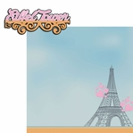 Tres Chic: Eiffel Tower 2 Piece Laser Die Cut Kit