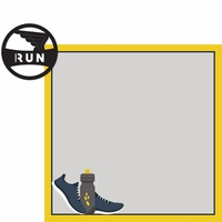 Triathlon: Run 2 Piece Laser Die Cut Kit
