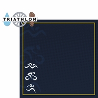 Triathlon: Triathlon 2 Piece Laser Die Cut Kit