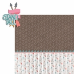 Tribal Life: Stand Tall 2 Piece Laser Die Cut Kit