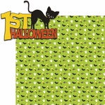 Tricks or Treats: 1st Halloween 2 Piece Laser Die Cut Kit