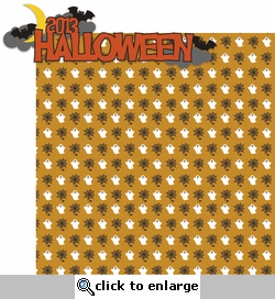 Tricks or Treats: 2013 Halloween 2 Piece Laser Die Cut Kit