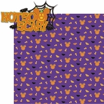 Tricks or Treats: Not So Scary 2 Piece Laser Die Cut Kit