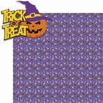 Tricks or Treats: Trick or Treat 2 Piece Laser Die Cut Kit