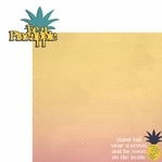 Tropical: Be a Pineapple 2 Piece Laser Die Cut Kit