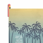 Tropical: Flamingo Stand Tall 2 Piece Laser Die Cut Kit