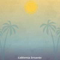 Tropical: Hello California 12 x 12 Paper