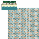Tropical Journey: Shore Excursions 2 Piece Laser Die Cut Kit