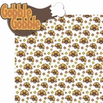 Turkey Day: Gobble Gobble 2 Piece Laser Die Cut Kit