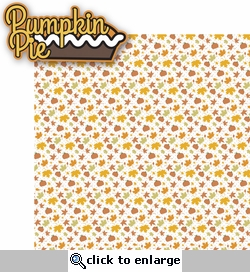 Turkey Day: Pumpkin Pie 2 Piece Laser Die Cut Kit