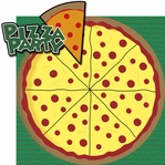 Turtle Power: Pizza Party 2 Piece Laser Die Cut Kit