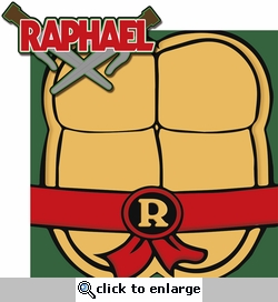 Turtle Power: Raphael 2 Piece Laser Die Cut Kit
