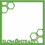 Turtle Time: Slow and Steady 12 x 12 Overlay