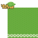 Turtle Time: What The Shell 2 Piece Laser Die Cut Kit