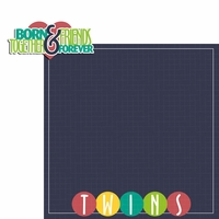 Twins: Born Together 2 Piece Laser Die Cut Kit