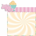 Two Scoops: Time for a Sweet Treat 2 Piece Laser Die Cut Kit