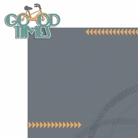 Two Wheels: Good Times 2 Piece Laser Die Cut Kit