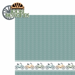 Two Wheels: Look! No Hands 2 Piece Laser Die Cut Kit