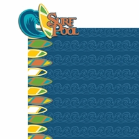Typhoon: Surf Pool 2 Piece Laser Die Cut Kit