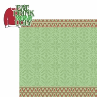 Ugly Sweaters:  Eat Drink and be Ugly 2 Piece Laser Die Cut Kit