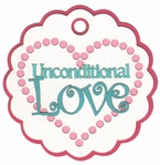 Unconditional Love Laser Die Cut