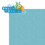 Under The Sea: Ocean Wonders 2 Piece Laser Die Cut Kit