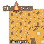 Under The Stars: Smore's 2 Piece Laser Die Cut Kit