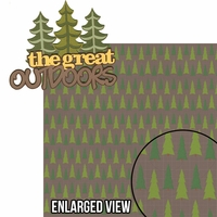 Under The Stars: The Great Outdoors 2 Piece Laser Die Cut Kit