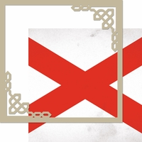 United Kingdom: Ireland 12 x 12 Overlay Quick Page Laser Die Cut Kit