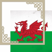 United Kingdom: Wales 12 x 12 Overlay Quick Page Laser Die Cut Kit