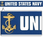 United State Navy Border Laser Die Cut