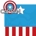 Universal: Captain America 2 Piece Laser Die Cut Kit