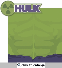 Universal: Hulk 2 Piece Laser Die Cut Kit
