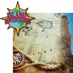 Universal: Island Adventures  2 Piece Laser Die Cut Kit