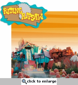 Universal: Ridin Ripsaw 2 Piece Laser Die Cut Kit