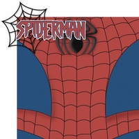 Universal: Spiderman 2 Piece Laser Die Cut Kit