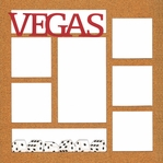 Vegas 12 x 12 Photo Overlay