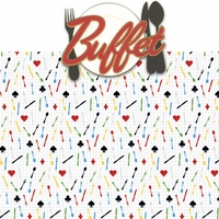 Vegas Baby 2: Buffet 2 Piece Laser Die Cut Kit