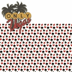 Vegas Baby 2: Only In Vegas 2 Piece Laser Die Cut Kit