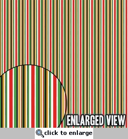 Vegas Baby: Lucky Stripes Paper 12 x 12 Paper