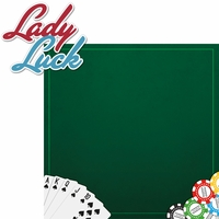 Vegas Bound: Lady Luck 2 Piece Laser Die Cut Kit