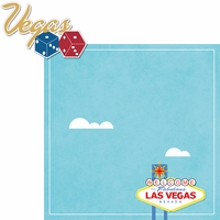 Vegas Bound: Vegas 2 Piece Laser Die Cut Kit